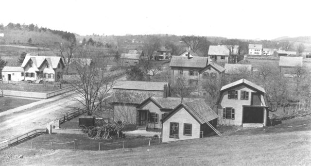 A photograph of the North Avenue Area from the mid-1890s