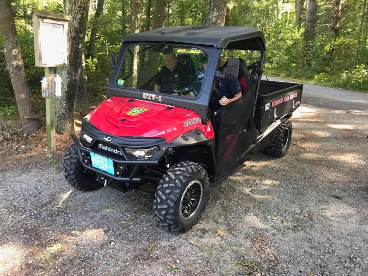 Fire Department's ATV 2019