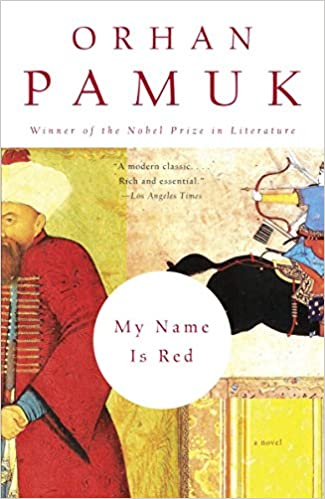 my name is red book cover