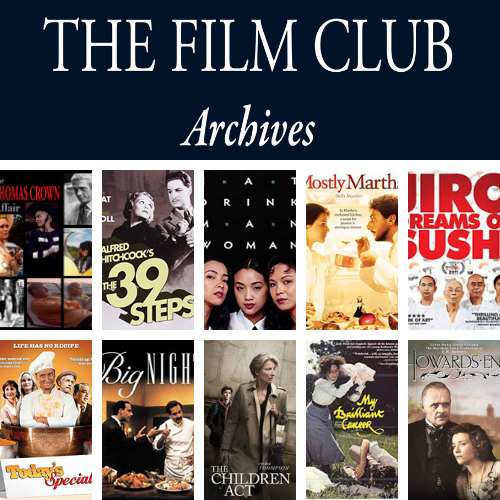 Film Club Archives movie poster collage